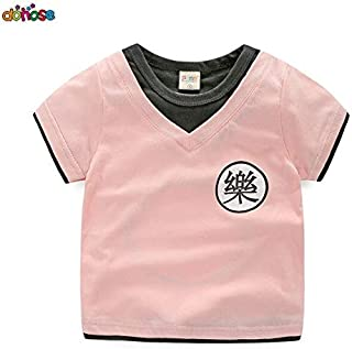 T-Shirts - Boys Dragon ball Z cosplay Summer Baby T Shirt Cartoon Print Cotton Tops Tees T Shirt For Kids Outwear Clothes ...