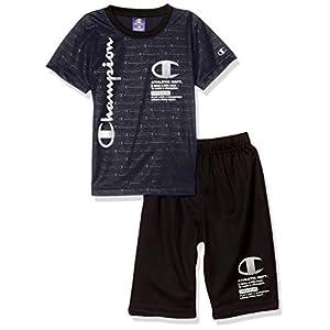 [チャンピオン] Tシャツセット SPORTS CX1468 ボーイズ ブラック 日本 100 (日本サイズ100 相当)