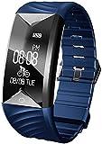 Willful Orologio Fitness Uomo Donna Impermeabile IP67 Cardiofrequenzimetro da Polso Contapassi...