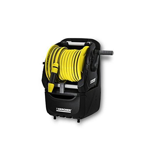 Karcher Irrigazione - Avvolgitubo portatile HR 7.315 con cassetto portaoggetti. Dotato di tubo PrimoFlex da 5/8' (15 metri),...