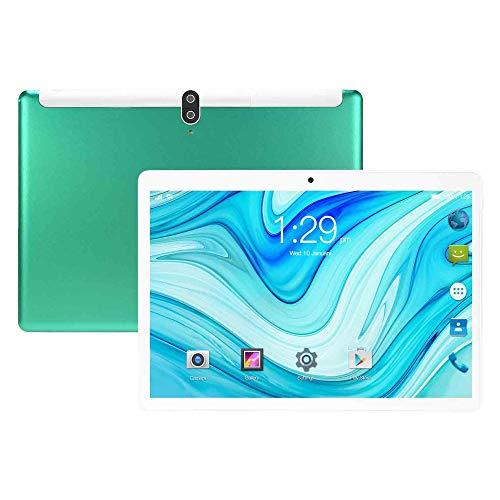 Tablet, OS Android, 2GB RAM + 32GB ROM, Ranura para SIM Dual, Cámara 8MP, WiFi, Bluetooth, GPS, Octa-Core, Pantalla Táctil IPS HD 10 Pulgadas, Llamadas Telefónicas 3G,Verde