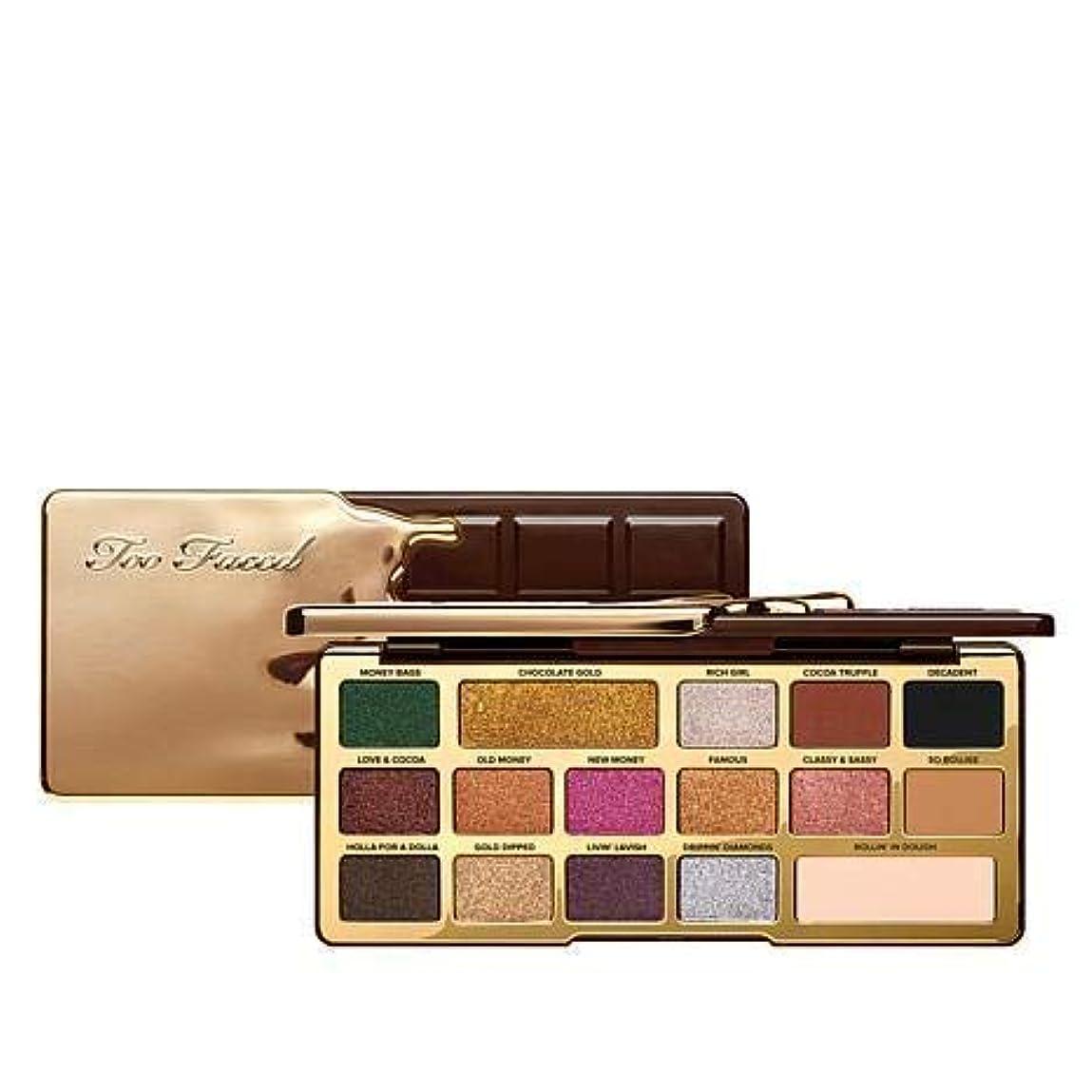 協同過半数大使TOO FACED Chocolate Gold Metallic/Matte Eyeshadow Palette