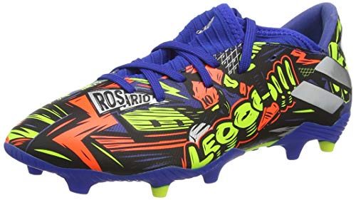 adidas Nemeziz Messi 19.3 FG, Zapatillas de fútbol para Hombre, AZUREA/Plamet/Amasol, 39.33 EU