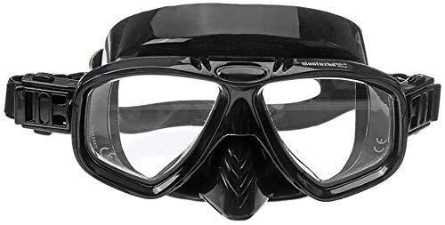 ZouYongKang Máscara de natación gafas de buceo gafas de natación con cubierta de nariz engranaje de snorkel engranaje junior mascarilla de snorkel para el buceo de buceo con pesca de neopreno de neopr