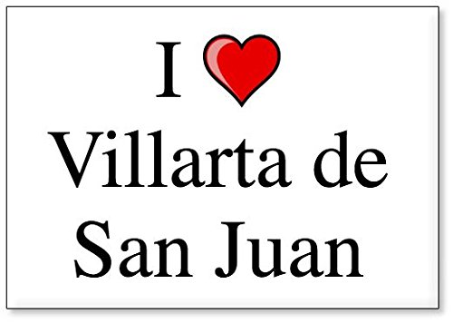 Mundus Souvenirs - Amo Villarta de San Juan, Imán para Nevera (diseño 2)