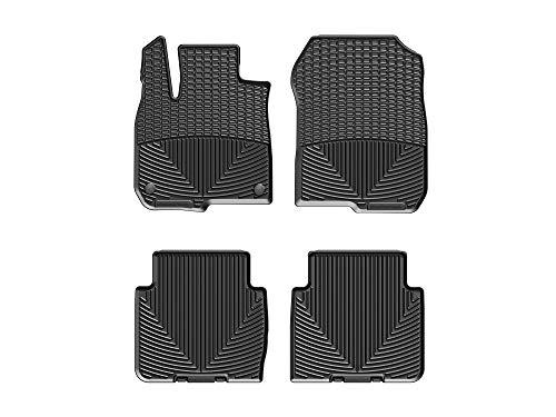 WeatherTech All-Weather Floor Mats for Honda CR-V - 1st & 2nd Row (Black)