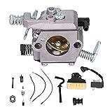 Kit de carburador, carburador de Hierro + Aluminio con Filtro de Aire, Bobina de Encendido, línea de Combustible, Kit de Ajuste para 021023025 MS210 MS230 MS250, Accesorio de jardín