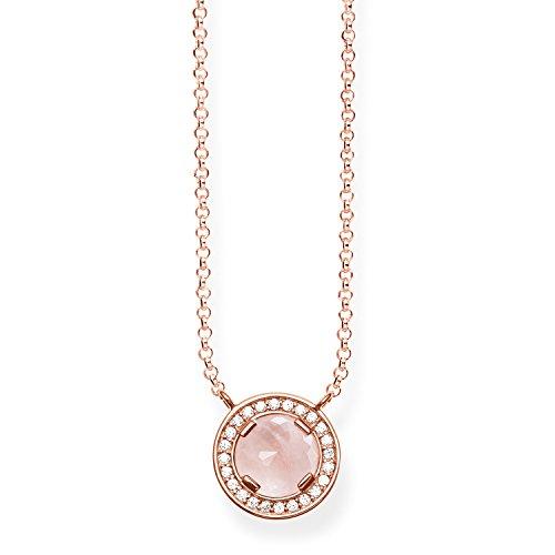 THOMAS SABO Damen-Halskette Glam und Soul 925 Silber Rosegold 45 cm - KE1495-537-9-L45v