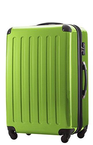 HAUPTSTADTKOFFER - Valigia Rigida Alex, TSA, Taglia 75 cm, 119 Litri, Colore  Verde mela