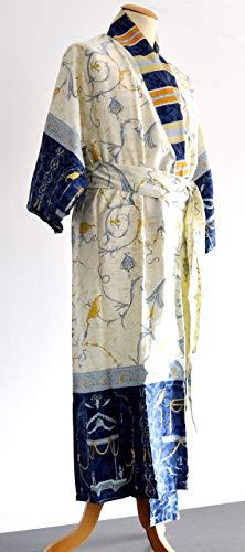 Bassetti OPLONTIS Kimono, katoen, blauw, 140 x 50 x 1 cm