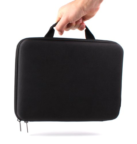 DURAGADGET Transporttasche für Huawei MediaPad T5 und MediaPad M5 10, Acer Iconia One 10 (B3-A40) Tablets, 25,7 cm (10,1 Zoll), Hartschale, leicht