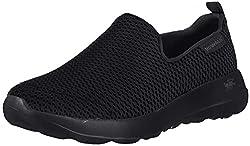powerful Skechers Women's Gojoy Walking Shoes Black 8US