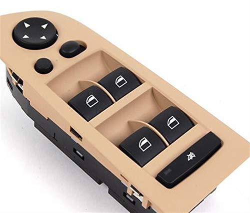 RONGSHU Ventana Delantera Switch Switch Master Control Interruptor Ajuste para BMW E90 E91 E93 E92 316I 318i 320i 323i 325i 328i 330i 61319217334