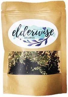 Elderberry Syrup Kit - Makes Approx. 32oz - Comes with Brewing Bag - Organic Ingredients - DIY - Elderberries - Rosehips - Ginger - Echinacea - Cinnamon - Cloves - Elderwise Organics