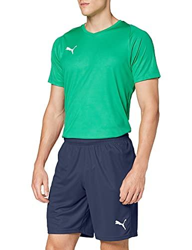 Puma Liga Core, Pantaloncini Uomo, Blu (Peacoat White), L