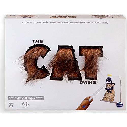 Spin Master Games 6046729 - The Cat Game, haariges, kreatives Ratespiel mit Katzen