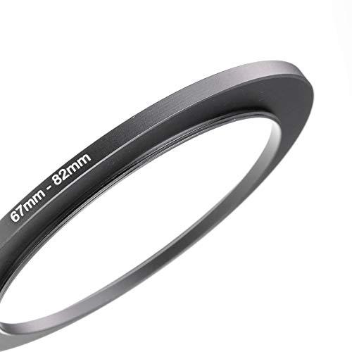 LUMOS 67-82 Step up Filteradapter Ring - Metall Filter Adapterring von Kamera Objektiv mit 67mm Filtergewinde auf 82mm Zubehör