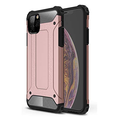 Cocomii Shockproof Dustproof iPhone 11 PRO Max Custodia, Sottile Opaco Plastica Dura & Morbido TPU Silicone A Prova di Polvere Case Bumper Cover for iPhone 11 PRO Max 6.5 inch 2019 (Rose Gold)