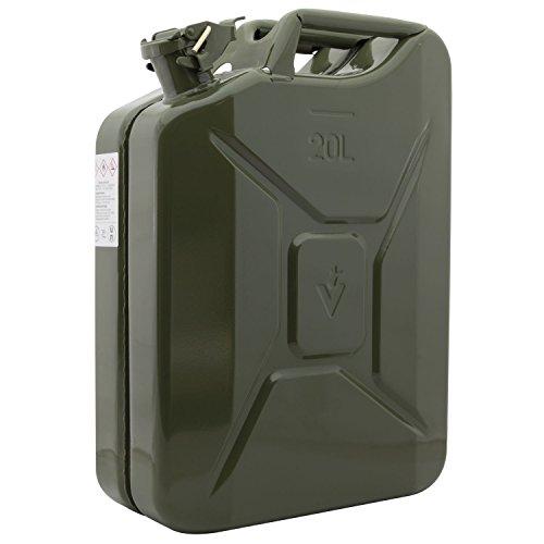 DÖNGES 23-265020-0 Kraftstoffkanister Stahlblech lackiert (Armeemodell) Inhalt 20 Liter