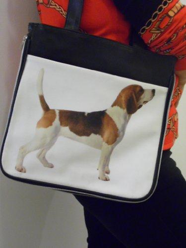 Handtas met een foto van BEAGLE
