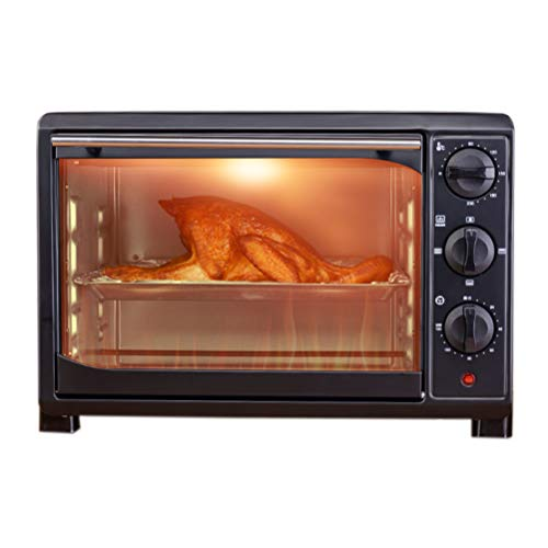 32L Mini Oven,120 Minutes Timing & Four-Tube Rapid Heating,toster Oven, Multi-Function Independent Temperature Control and Rapid Heating,electric Toaster Oven