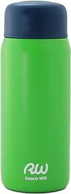 Reach Will魔法瓶 水筒200ml 軽量 真空2重構造ステンレスマグボトル 保温保冷 グリーン RHC-20MGR
