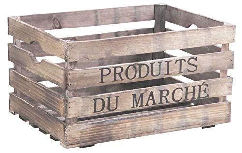 AubryGaspard Caisse en Bois Produits du marché