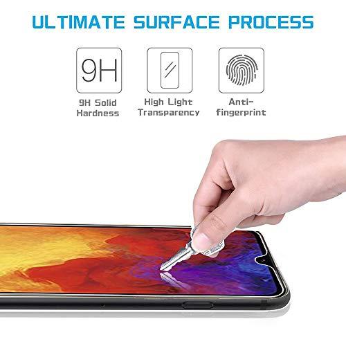 Ferilinso Schutzfolie Kompatibel mit Huawei Y6 2019 / Huawei Y6 Pro 2019 / Honor 8A, [3 Pack] Panzerglas Schutzfilm aus gehärtetem Glas (Transparent) - 5