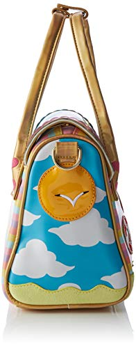 Irregular Choice Womens Beach Hut Bag Cross-Body Bag Blue (Blue/Multi)