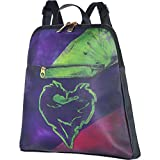 """Party City Descendants 3 Mal Backpack for Girls, Disney, One Size, 13"""" x 12"""", Adjustable Straps, Features Dragon Logo"""