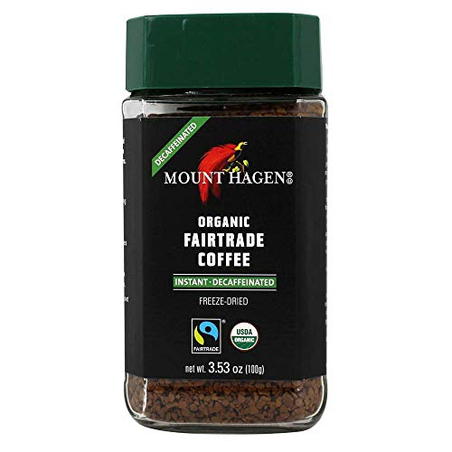 Mount Hagen, Coffee Decaf Freeze Dried Organic, 3.53 Ounce