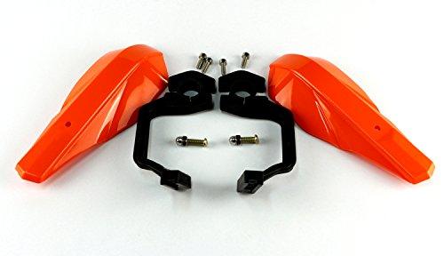 Protector manillar motocicleta Handuards color naranja