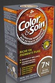 COLOR & SOIN Coloration Blond Noisette 7N - 135 ml