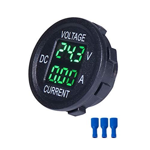 Planuuik Universal DC 9 V naar 48 V 10 A digitale voltmeter ampèremeter spanning stroom meter meting LED-indicator voor 12 V 24 V 36 V E-bike motorfiets auto vrachtwagen