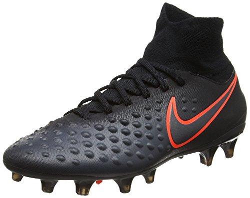 Nike Jr Magista Obra Ii Fg, Botas de Fútbol Unisex Niños, (Black/Total Crimson), 36 EU