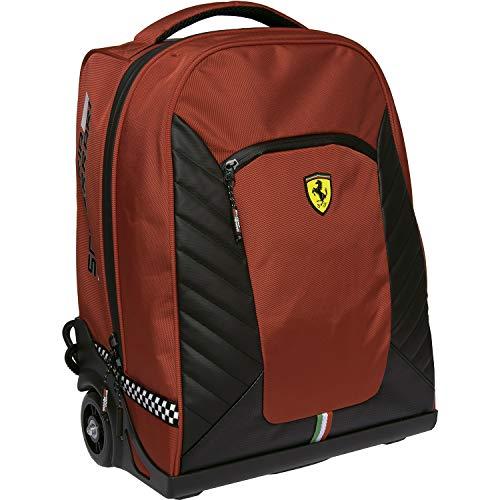 Ferrari Zaino Organizzato Trolley Premium Rosso