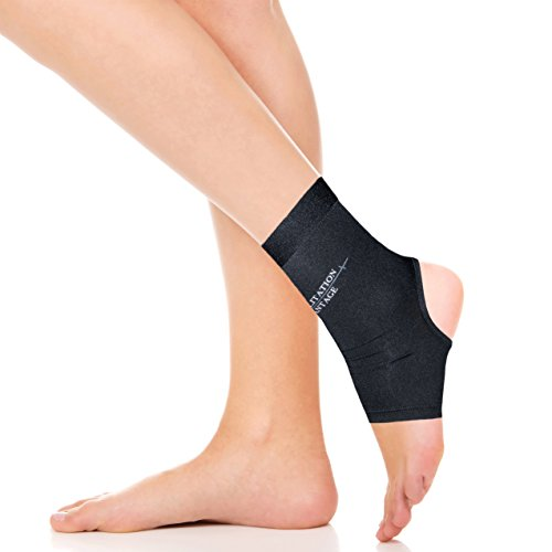 Copper Infused Ankle Compression Sleeve (Single)