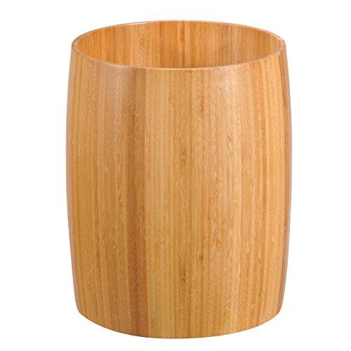 Creative Home 62015 Natural Bamboo Waste Basket Trash Can