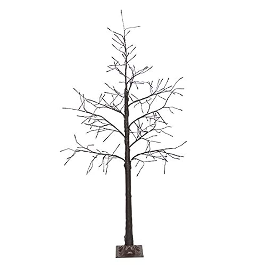 思い出す要求する先駆者クリスマスツリー LED ブランチツリー ブラウン (180cm)