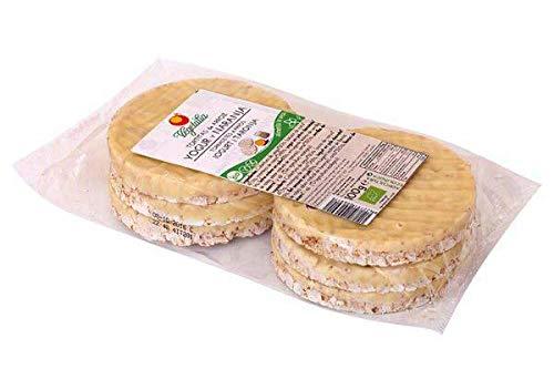 Vegetalia Tortitas De Arroz Yogur y Naranja Bio 100g
