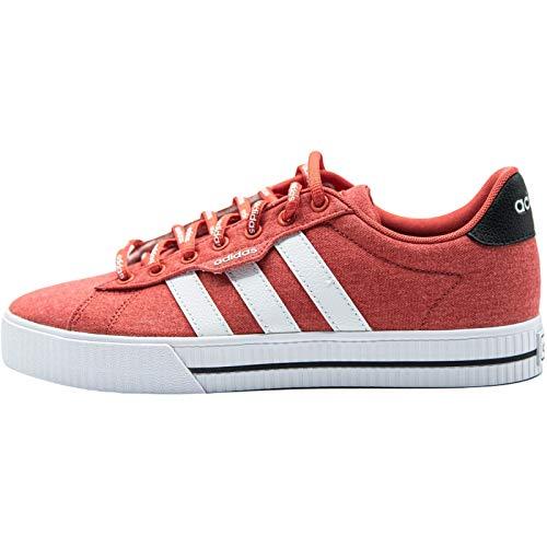 adidas Daily 3.0, Zapatillas de Deporte Hombre, ROJTRI/FTWBLA/NEGBÁS, 46 2/3 EU