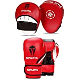 Best Boxing Gloves - Boxing gloves and pads set Focus Punch Mitts Review