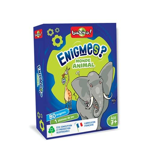 BIOVIVA - Enigmes - Monde Animal - Jeu de société ludique dès 7 ans - 200400