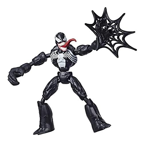 Hasbro Spider-Man - Venom Bend And Flex (Action Figure Flessibile 15cm), (E7689)