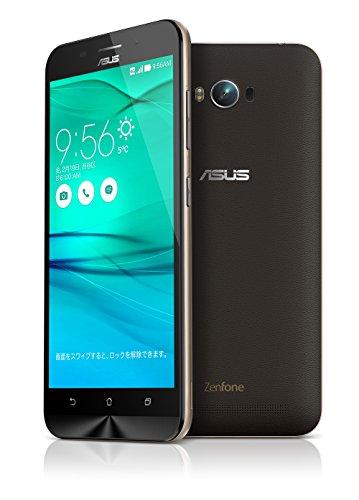 {【国内正規品】ASUSTek ZenFone Max (SIMフリー/Android5.0.2 /5.5inch /デュアルmicroSIM /LTE /5,000mAh)(2GB/16GB) (ブラック) ZC550KL-BK16}