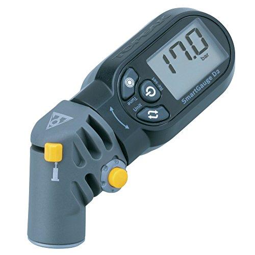 Topeak Smartgauge D2 Manómetro Digital, Deportes Y Aire Libre, Negro, Talla Única