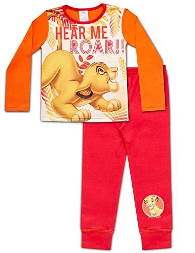 Disney Lion King Roar Mädchen Schlafanzug 7-8 Jahre