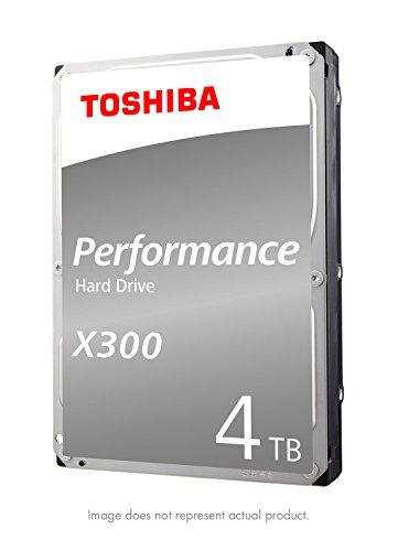 Toshiba X300 4TB Performance Desktop and Gaming Hard Drive 7200 RPM 128MB Cache SATA 6.0Gb/s...
