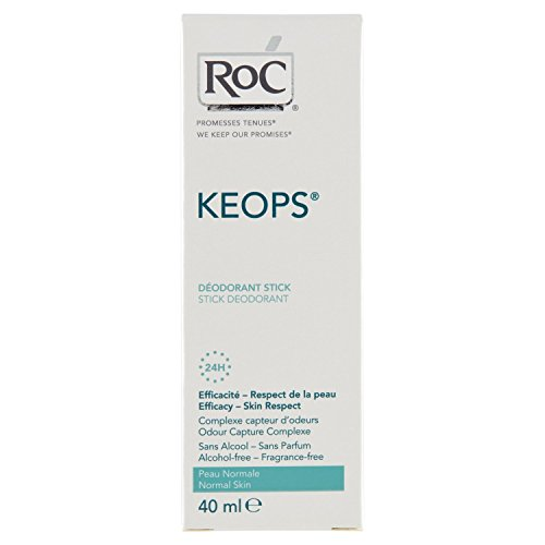 Roc Keops Deodorant Stick zonder Alcohol, 40 ml