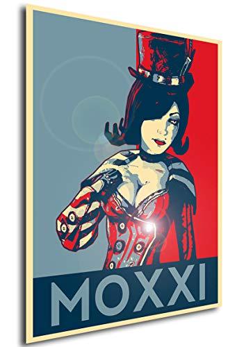 Instabuy Poster - Propaganda - Borderlands - Moxxi A A4 30x21